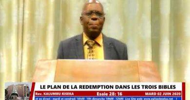 Culte en direct de l'Eglise des ÉLUS: Pasteur KALUMBU KISEKA