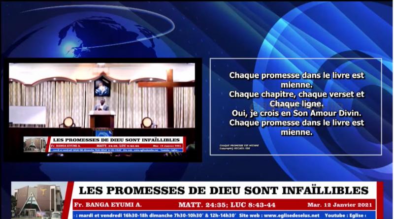 EDE – LES PROMESSES DE DIEU SONT INFAILLIBLES – Fr. Banga EYUMI – Mardi 12.01.2021